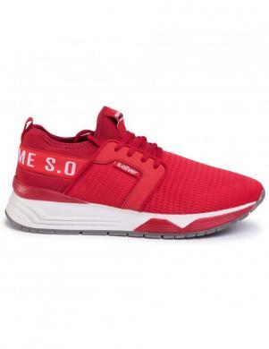 S.OLIVER vīriešu sarkani ikdienas apavi