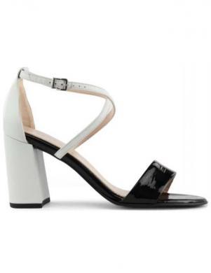 PETER KAISER sieviešu melnas baltas sandales ALECIA