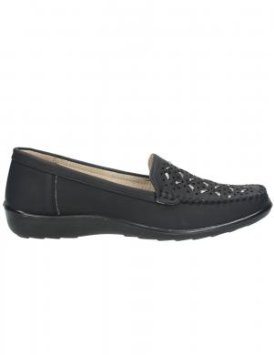 LAURA BERG sieviešu melni ikdienas apavi