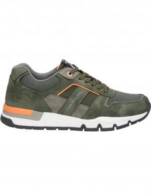 TOM TAILOR vīriešu zaļi ikdienas apavi