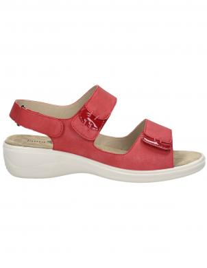 LAURA BERG sieviešu sarkanas sandales