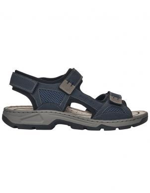 RIEKER vīriešu zilas sandales