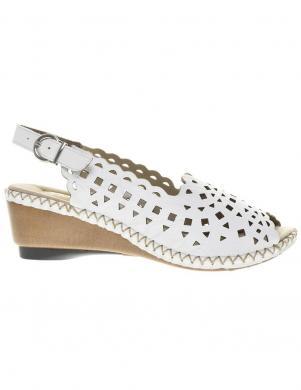 RIEKER sieviešu baltas sandales