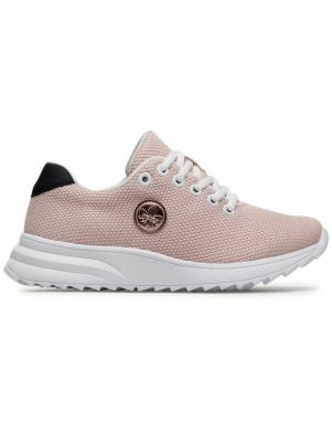 RIEKER sieviešu gaiši rozā ikdienas apavi