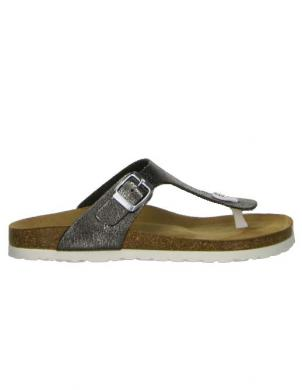 SALAMANDER sieviešu pelēkas sandales LUINO