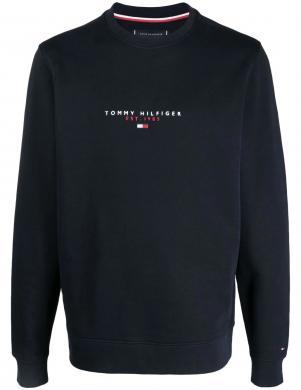 TOMMY HILFIGER vīriešu tumši zils džemperis