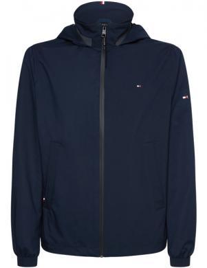 TOMMY HILFIGER vīriešu tumši zila jaka no lietus un vēja
