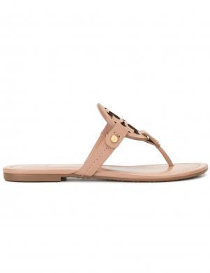TORY BURCH sieviešu krēmīgas čības - sandales pār pirkstu MILLER