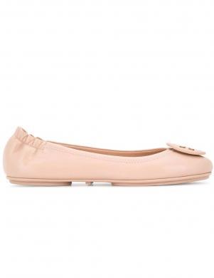 TORY BURCH sieviešu krēmīgas krāsas balerīnas apavi MINNIE TRAVEL