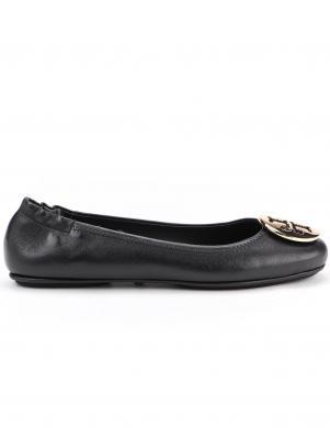 TORY BURCH sieviešu melni balerīnas apavi MINNIE TRAVEL