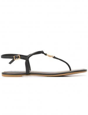 TORY BURCH sieviešu melnas sandales EMMY