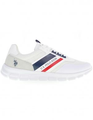 U.S. POLO ASSN. vīriešu balti ikdienas apavi GARY
