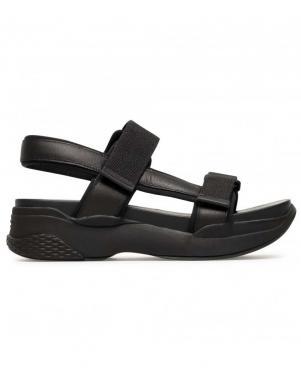 VAGABOND sieviešu melnas sandales LORI