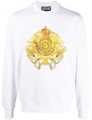 VERSACE JEANS COUTURE vīriešu balts džemperis