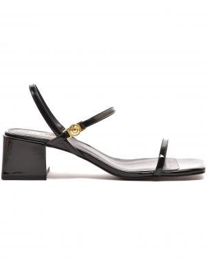 VERSACE JEANS COUTURE sieviešu melnas sandales LINEA FONDO TWIGGY DIS. 51