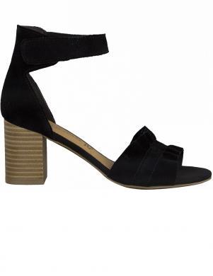 MARCO TOZZI sieviešu melnas sandales