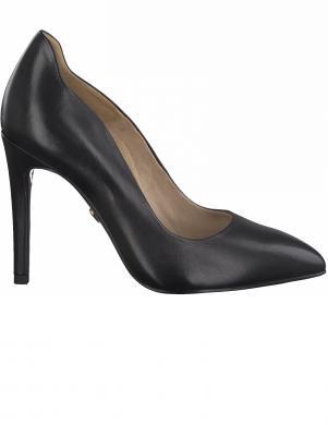 TAMARIS sieviešu melni augstpapēžu apavi