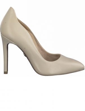 TAMARIS sieviešu krēmīgas krāsas augstpapēžu apavi