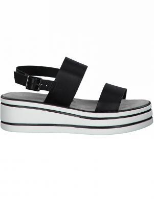 TAMARIS sieviešu melnas sandales