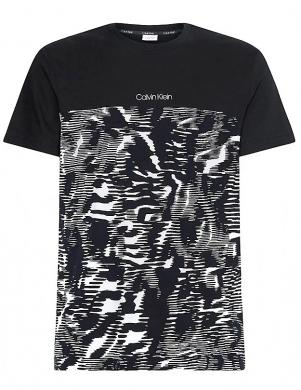CALVIN KLEIN vīriešu melns krekls