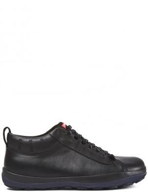 CAMPER vīriešu melni ādas ikdienas apavi