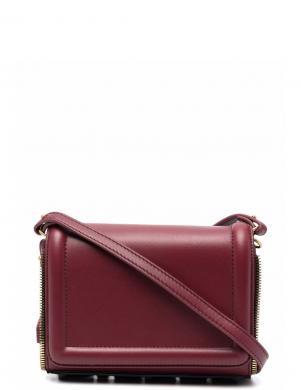 DIESEL sieviešu bordo krāsas ādas soma