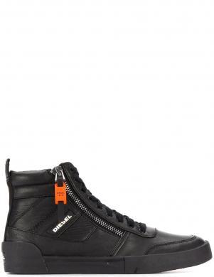 DIESEL vīriešu melni ādas ikdienas apavi-zābaki D-VELOWS