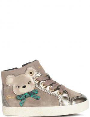 GEOX bērnu pelēki ikdienas apavi - zābaki meitenēm KILWI