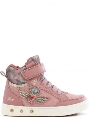 GEOX bērnu rozā ikdienas apavi meitenēm SKYLIN