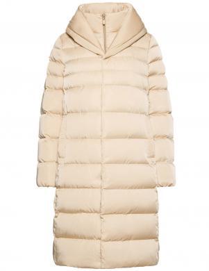 GEOX sieviešu smilšu krāsas jaka CHLOD LONG COAT