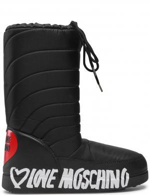 LOVE MOSCHINO sieviešu melni sniega apavi-zābaki
