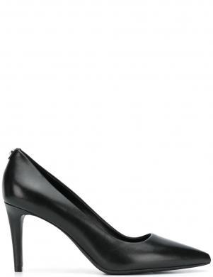 MICHAEL KORS sieviešu melni ādas augstpapēžu apavi DOROTHY FLEX PUMP