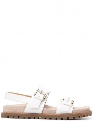 MICHAEL KORS sieviešu baltas ādas sandales JUDD SANDAL
