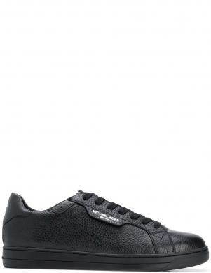 MICHAEL KORS vīriešu melni ādas ikdienas apavi KEATING