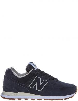 NEW BALANCE vīriešu zili ādas ikdienas apavi 574