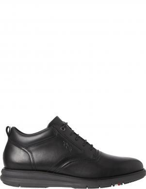 TOMMY HILFIGER vīriešu melni ādas klasiski apavi PREMIUM LEATHER HYBR