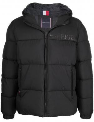 TOMMY HILFIGER vīriešu melna jaka