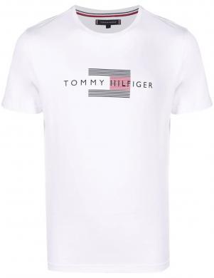 TOMMY HILFIGER vīriešu balts kokvilnas krekls