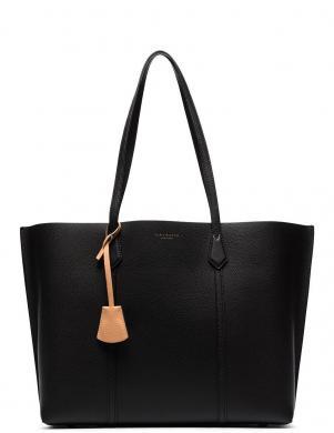 TORY BURCH sieviešu melna ādas soma PERRY TRIPLE-COMPART