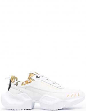 VERSACE JEANS COUTURE vīriešu balti ādas ikdienas apavi FONDO GRAVITY DIS.