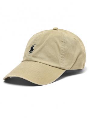 POLO RALPH LAUREN smilšu krāsas vīriešu cepure