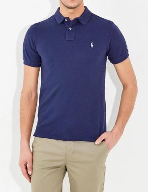 POLO RALPH LAUREN tumši zils vīriešu krekls
