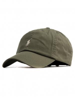 POLO RALPH LAUREN zaļa vīriešu cepure