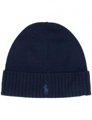 POLO RALPH LAUREN zila vīriešu vilnas cepure