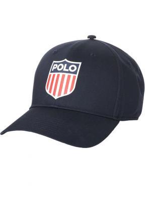 POLO RALPH LAUREN melna vīriešu cepure