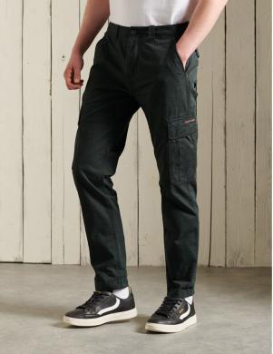 SUPERDRY vīriešu melnas bikses CORE CARGO