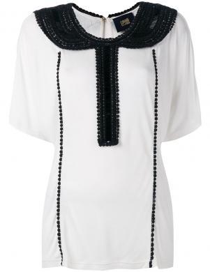 CAVALLI CLASS baltas krāsas stilīga sieviešu blūze