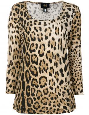 CAVALLI CLASS stilīga leoparda raksta sieviešu blūze