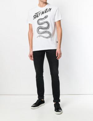 Baltas krāsas vīriešu krekls CAVALLI CLASS