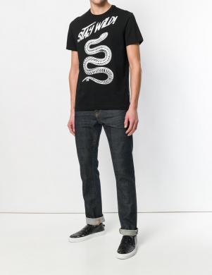 Melnas krāsas vīriešu krekls CAVALLI CLASS